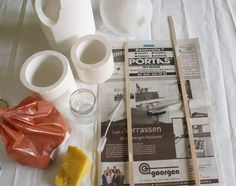 After showing a few times how to make a mould, I thought it was time to show you how to use a mould with liquid porcelain clay. I will also ...