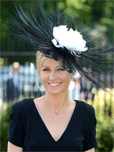 The ladies at the annual racing event really do have fun with fashion. Roo  Twinkle · Hats 8fb7ea50fe2