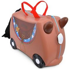 Buy Trunki Bronco Pony Ride-On Suitcase - Brown at Argos.co.uk, visit…