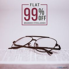 Check out the Premium Collection of Eyewear now, before your favourites get sold out! FLAT 99% OFF* on Eyeglasses @ Coolwinks Shop Now.