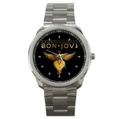 Hey, I found this really awesome Etsy listing at https://www.etsy.com/listing/210444415/new-hot-bon-jovi-custom-watches