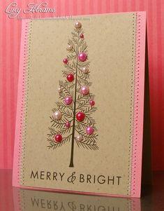 Easy diy christmas card craft christmas card crafts diy christmas christmas card by lorraine m4hsunfo