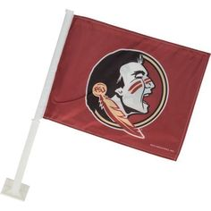 Rico Florida State University Car Flag (Red Dark, Size ) - NCAA Licensed Product, NCAA Novelty at Academy Sports