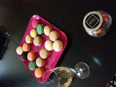 These macarons are really yummy!  http://www.cadranhotel.com/