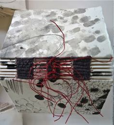 Book made at Dorothy Caldwell's excellent 'Human Marks' workshop... click image to read