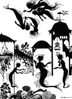 Little Mermaid - Fairy Tales by Hans Andersen, 1932
