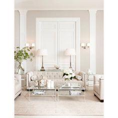 modern white living room furniture.  Living A Plush Sofa And Soft Color Scheme Create A Glamorous Romantic Living Room Intended Modern White Living Room Furniture