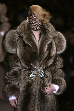raccoon coat - viktor and rolf AW 2006