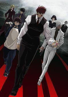 """Blood Blockade Battlefront"" TV Anime key visual (Kekkai Sensen), April 2015"