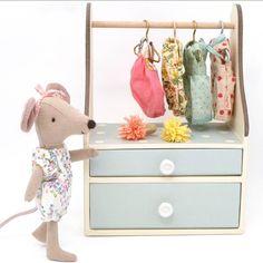 Image result for maileg wardrobe dresser