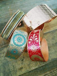 Copper Bracelets by Paykoc