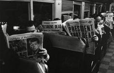 ANOS DOURADOS: IMAGENS & FATOS: IMAGENS = FLAGRANTES DOS ANOS 50/60  COMOÇÃO NOS ESTADOS UNIDOS (1963)