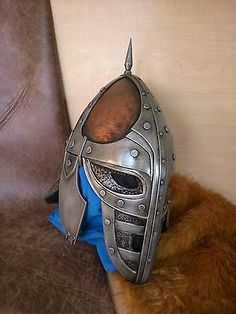 Fan-made-Guard-Helmet-kit-Skyrim-Cosplay-Costume