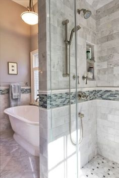 Charming Cape Cod Renovation - traditional - bathroom - new york - by Knight Architects LLC Home Renovation, Home Remodeling, Bathroom Colors, Bathroom Ideas, Bath Ideas, Dream Bath, Upstairs Bathrooms, Traditional Bathroom, Home Interior