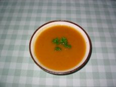 Potage au chou et carottes Cantaloupe, Clean Eating, Fruit, Food, Cream Soups, Carrots, Sprouts, Healthy Eating, Cooking Food