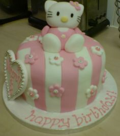 Small hello kitty cake ♡