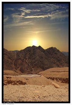 Montañas de Salomón, Eilat, Israel un lugar de la historia y de conocimientos especiales, el hombre más sabio de la tierra casi, al menos antes de Jesucristo!