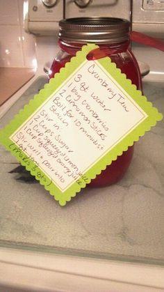 Cranberry Tea (teacher gift)