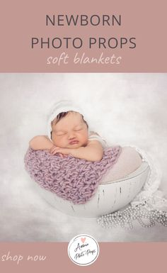 Do you like to pamper your small customers? Amaia Photo Props has beautiful, soft blankets that will keep babies cozy during the photoshoot. They are handmade and unique making the photos you take captivating.! And to help with your inventory selection we sell them in a beautiful array of colors perfect for baby girls and boys. Click through and check all available options! #newbornphotographyprops #newbornposing #newbornblanket