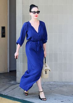 Dita Von Teese in Hollywood, August 3rd, 2012