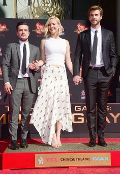 23 Times Jennifer Lawrence, Josh Hutcherson and Liam Hemsworth Personified #FriendshipGoals