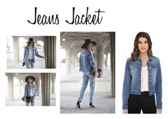 """""""Jeans Jacket"""" by officialrt ❤ liked on Polyvore featuring Mavi"""
