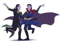 I am all for a Loki vs Strange dance-off in IW