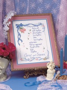 Today We Dedicate free cross-stitch pattern of the day from freepatterns.com 10/11/13
