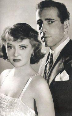 Bette Davis & Humphrey Bogart