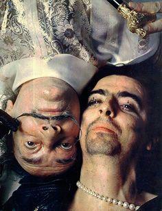 Alice Cooper & Salvador Dali, 1973, by Bob Gruen