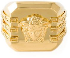 Versace Medusa square ring on shopstyle.com