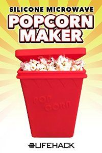 This popcorn popper is great for making healthy delicious popcorn easy & quick. Check it out  https://www.amazon.com/Silicone-MrLifeHack-Microwave-Homemade-Dishwasher/dp/B01HQOSOT6/ref=sr_1_30?s=kitchen&ie=UTF8&qid=1470862609&sr=1-30&keywords=microwave+popcorn+popper