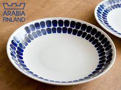 芬蘭品牌ARABIA tuokio系列 24cm 陶瓷盤 (深盤)
