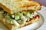 Tuna salad recipe with cottage cheese and low-fat yogurt