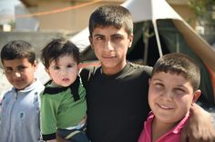 #RestoreIraq Help support these refugees who were forced to flee their village in fear of ISIS