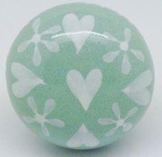 CK621 Heart Garland Sage Green [CK621] - £3.50 : These Please Ltd