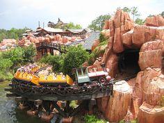 Thunder Mountain - Ride at Walt Disney World's Frontierland