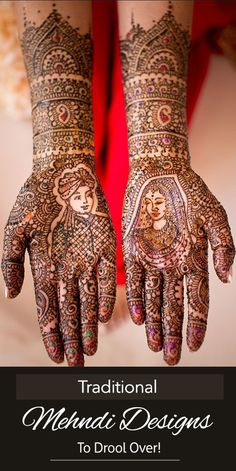 . We have different types of mehndi designs and the most popular ones in India are the Rajasthani, Marwari, Gujarati, Kashmiri and Mughlai styles. In this post, we share with you some amazing traditional mehndi designs. They truly are magnificent.