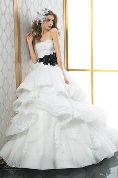 val stefani wedding dresses 2012 strapless ball gown 8021