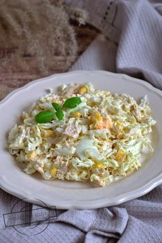 Sałatka z kapustą pekińską i tuńczykiem – Smaki na talerzu Paleo, Keto, Fried Rice, Risotto, Fries, Low Carb, Impreza, Cooking, Ethnic Recipes