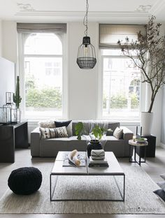 Livingroom with tree