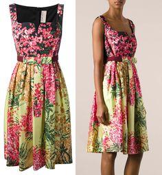Antonio Marras Floral-Print Dress, $1,415.28