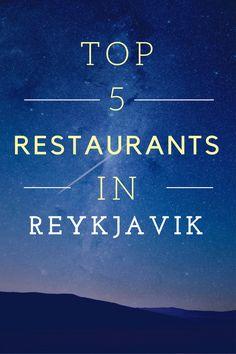 Best Restaurants in Reykjavik Iceland