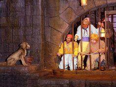 Pirates of the Caribbean - classic scene on the Walt Disney ride