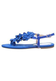 Sandaler m/ tåsplit - blue [199,-]