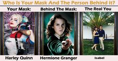 Who Is Your Mask And The Person Behind it?