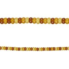 Bead Gallery Beads, Amber Glass Rondelle