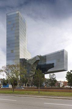 Barcelona, Spain  Nueva Sede de Gas Natural  Miralles Tagliabue EMBT