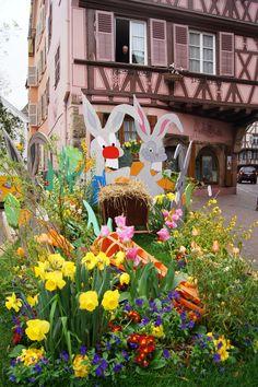 Les espaces verts multicolores - Le Printemps de Colmar (www.printemps-colmar.com)
