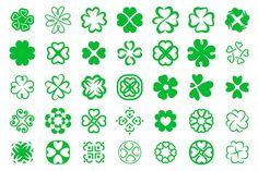 35 clover icon by Artha Design Studio on @creativemarket